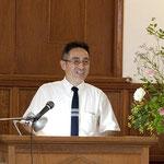 祝辞 西関東地方連合会長・浜松教会 伊藤勝彦牧師