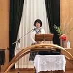 講演「礼拝さいこう(再考・再興・最高)!」 江原美歌子先生
