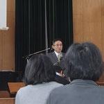 伊藤勝彦牧師(連合会長・浜松教会)の挨拶