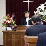 石渡牧師の就任の辞