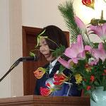 新年連合礼拝 聖書朗読:鈴木眞理子牧師(救世軍静岡小隊)