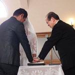 結婚式③ 祈り