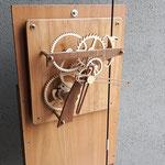 """SEPTIMUS - orologio da parete con movimento """"a peso"""" - durata carica circa 1-2 giorni"""