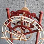 QUINTUS - fronte orologio con particolare del movimento