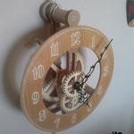 Orologio n° 11 di Brian Law - Il mio primo orologio a pendolo..... settimane di lavoro e prove per vederlo funzionare....