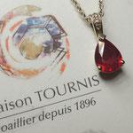 Pendentif Rubis, Joaillerie Tournis, Bordeaux, fabricant
