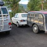 englischer Leichenwagen-Anhänger aus dem Jahre 1958... jetzt ein Schlafwagen... der Wahnsinn!