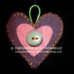 Accroche torchon Coeur - 3€