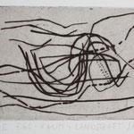 Landschaft, WEG, Kaltnadelradierung, 1992, 32 x 25,5 cm