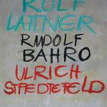 Der Bruder im Geiste, 2003, Kreide, Tusche auf Bütten