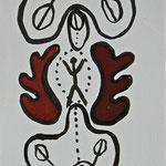 Versöhnungszeichen, 2005, Tusche auf Bütten
