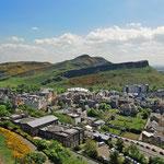 Edinburgh - Arthur's Seat, der Hausberg der Hauptstadt