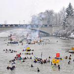 Events in Neuburg an der Donau - Das Donauschwimmen findet immer im am letzten Samstag im Januar statt