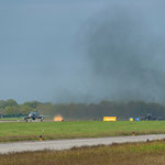 Startfreigabe: Wenn der Himmel über Ostfriesland nicht schon schwarz ist, wird er es spätestens jetzt sein...