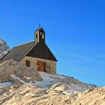 """Die Kirche """"Maria Heimsuchung"""" wurde von Kardinal Josef Ratzinger geweiht, dem heutigen Papst Benedikt XVI"""