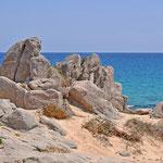 Strandansichten (bei Chia)