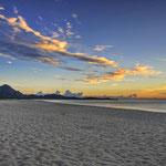 Sonnenaufgang an der Costa Rei - 6:37Uhr - Die tolle Lightshow geht weiter