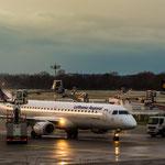 Embraer ERJ190-200LR / LH CityLine / D-EABQ beim De-icing