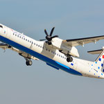 9A-CQA De Havilland Dash 8-402Q Croatia Airlines