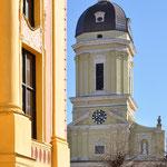 Neuburg an der Donau - Historische Altstadt (Stadtbücherei und Hofkirche)