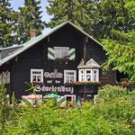 Wirtshaus auf dem Pfänder in Österreich