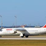 HB-IXP Avro RJ100 Swiss