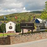 """Whisky und unzählige Distillerien - dafür steht Schottland. Weltweit bekannt ist die """"Glennfiddich Distillery"""" nahe Dufftown."""