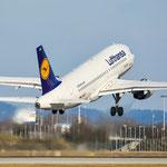 Airbus A319-100 / D-AILA / Lufthansa / MUC
