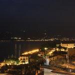 Blick über Limone sul Garda bei Nacht