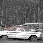 In den Bergen von Fairbanks - Schrottplatz: Betreten verboten, daran sollte man sich wohl besser auch halten