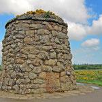 Denkmal auf dem Schlachtfeld von Culloden