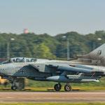 Tornado aus Büchel (JaboG 33) bei der Landung. Der eigentliche Gast hatte am Morgen technische Probleme...
