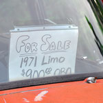 Die Rostlauben wollen die wirklich für 900 Dollar verkaufen. // They really want to sell these rusty cars for 900 bucks each.
