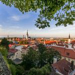 Wunderschön: Blick von der Kohtuotsa Aussichtsplattform auf dem Domberg