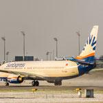 ...mit Vollgas Richtung Süden (Boeing 737-8FH / SunExpress / TC-SNH)