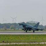"""Eurofighter 30+98 vom Jagdbombergeschwader 31 """"Boelcke"""" aus Nörvenich"""