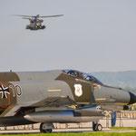 Flyin der CH -53 am Donnerstagmorgen