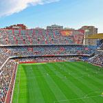 Valencia - Estadio Mestalla, FC Valencia gegen Real Sociedad San Sebastian