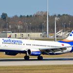 TC-SNR Boeing 737-8HC SunExpress