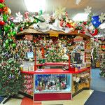 Im Santa Claus House - Weihnachtsmusik und jede Menge Weihnachtsschnickschnack das ganze Jahr über