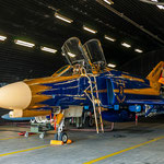 """First in - Last out"" die sonderbemalte F-4F 37+01 im Shelter"