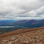 Die Bergwelt des Cairn Gorm Mountain - berüchtigt für heftigste Wetterumschwünge (selber erlebt...)