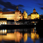 Neuburg an der Donau - Ein herrlicher Anblick ist das Schloss bei Nacht