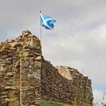 Weltbekannt: Die Ruinen von Urquhart Castle am Loch Ness
