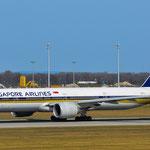9V-SWF Boeing 777-312ER Singapore Airlines