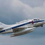 """A-4 Skyhawk von BAE Systems. Sie gehören zum """"Inventar"""" in Wittmund und sind für die Flugzieldarstellung zuständig"""