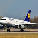 D-AKNJ Airbus A319-112 Lufthansa