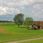 Blick aufs Schlachtfeld von Culloden - hier endete 1746 der Jakobitenaufstand (Sieg der Engländer und Ende der Unabhängigkeit Schottlands))