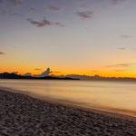 Sonnenaufgang an der Costa Rei - 5:59Uhr