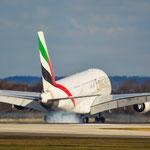 Airbus A380-800 / A6-EDL / Emirates / MUC